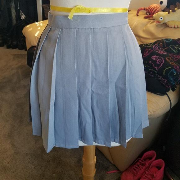 4c58f072c40a spreepicky Skirts   Grey Highwaist Pleated Skirt   Poshmark